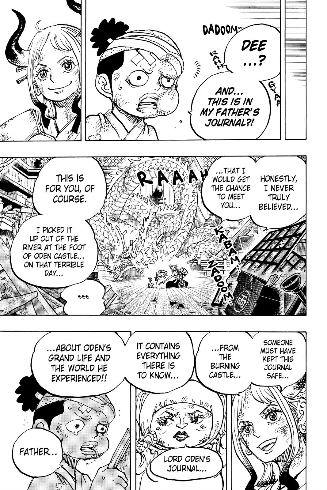 One Piece Chapter 1000 Page 5