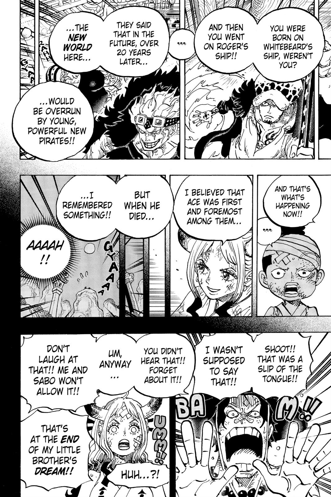 One Piece Chapter 1000 Page 6
