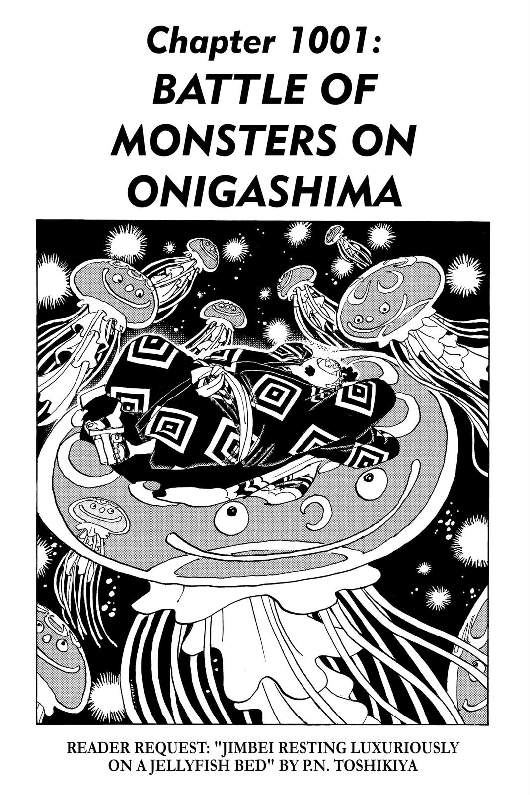 One Piece Chapter 1001 Page 1