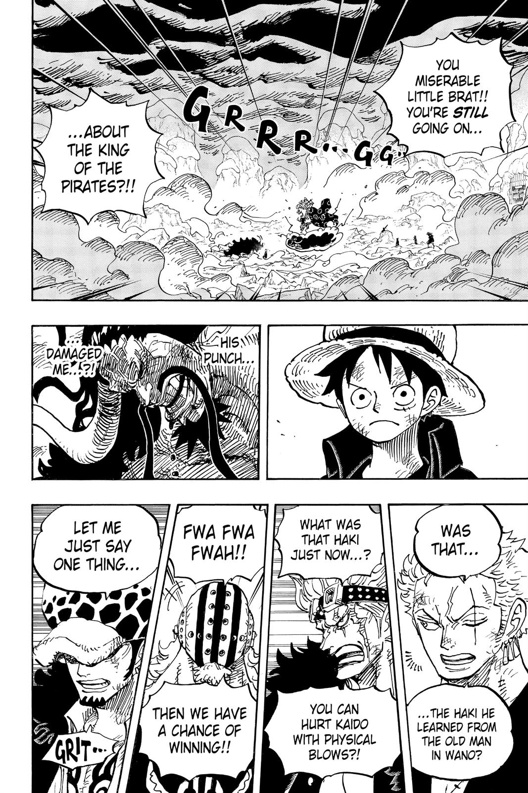 One Piece Chapter 1001 Page 2