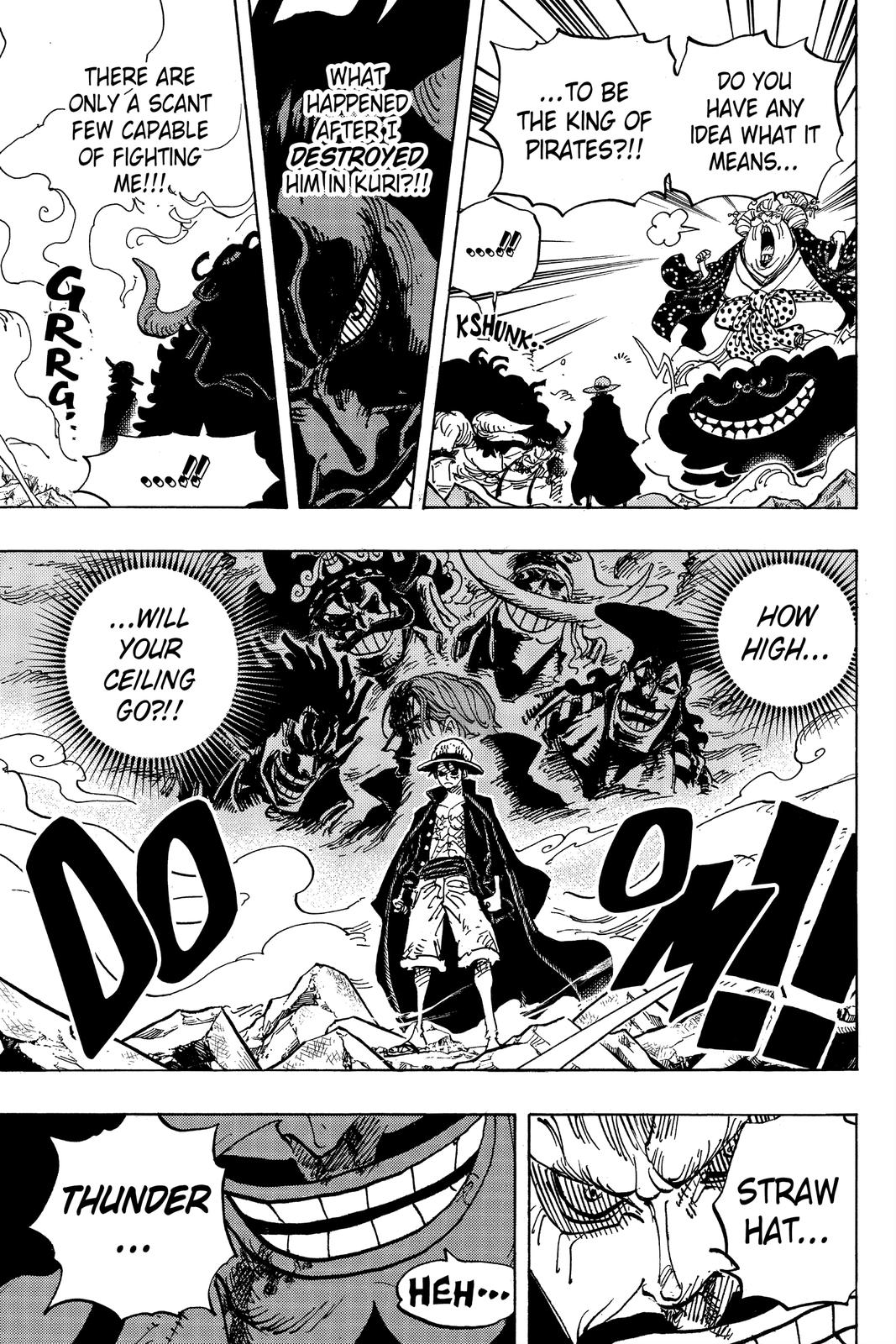 One Piece Chapter 1001 Page 3