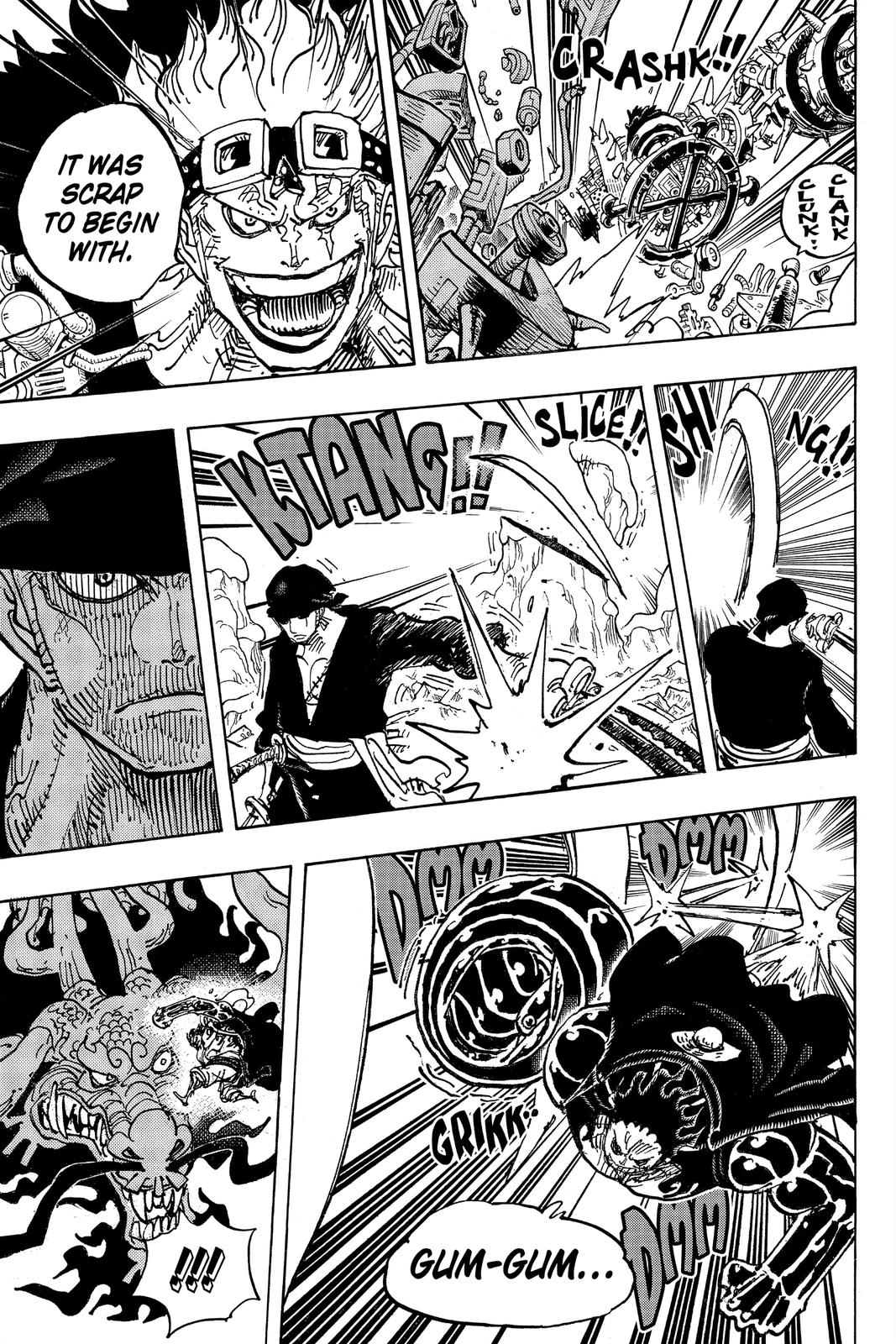 One Piece Chapter 1002 Page 3