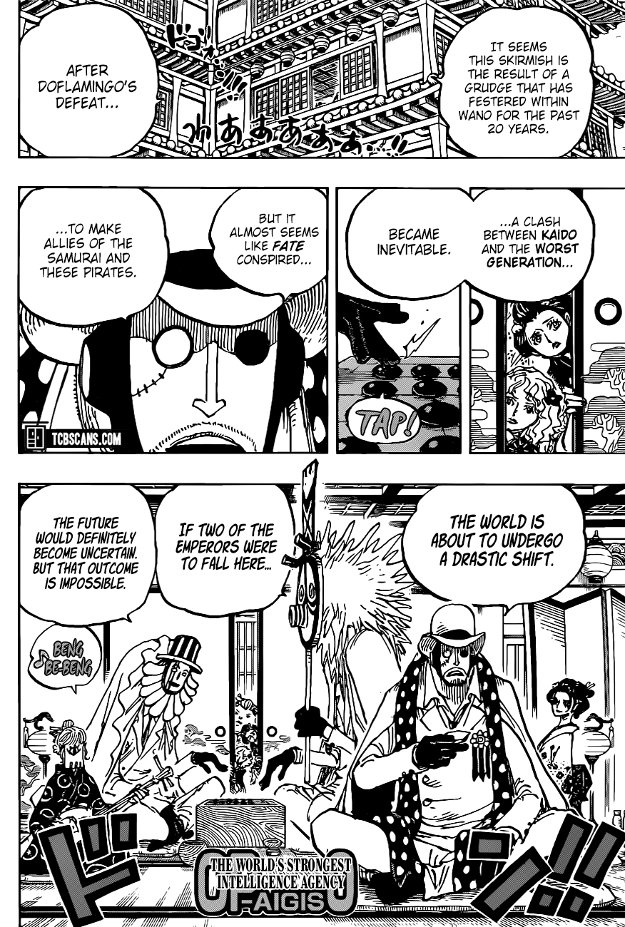 One Piece Chapter 1003 Page 11