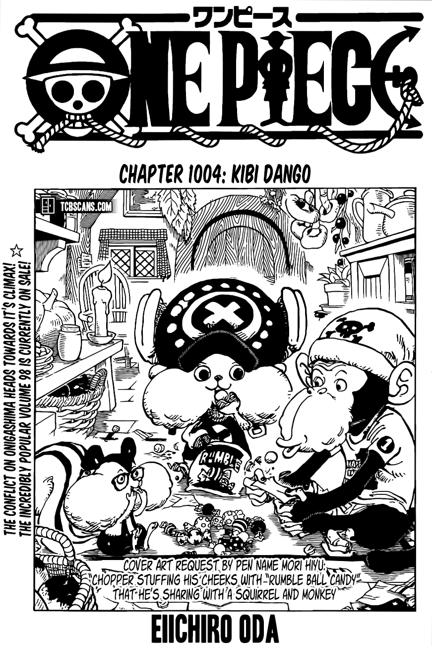 One Piece Chapter 1004 Page 1