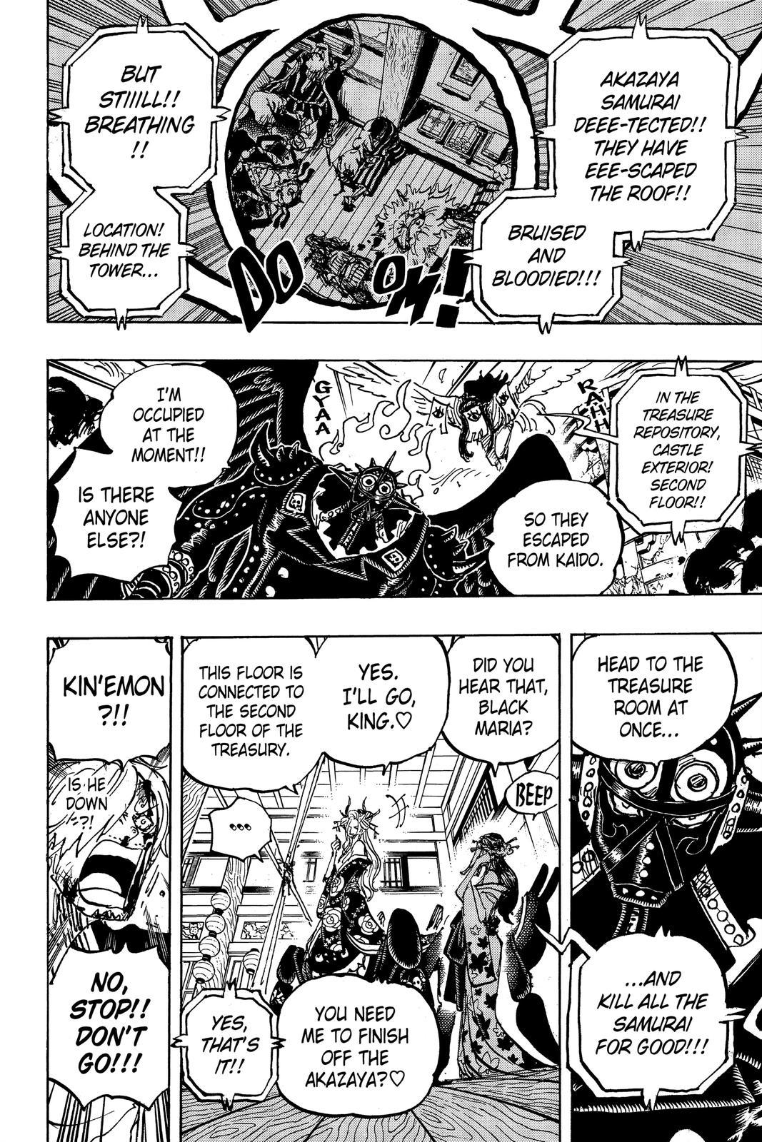 One Piece Chapter 1004 Page 15