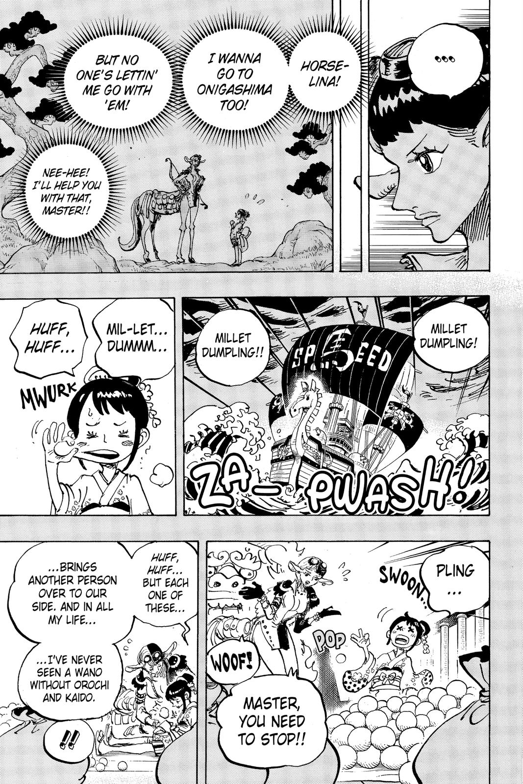 One Piece Chapter 1004 Page 3