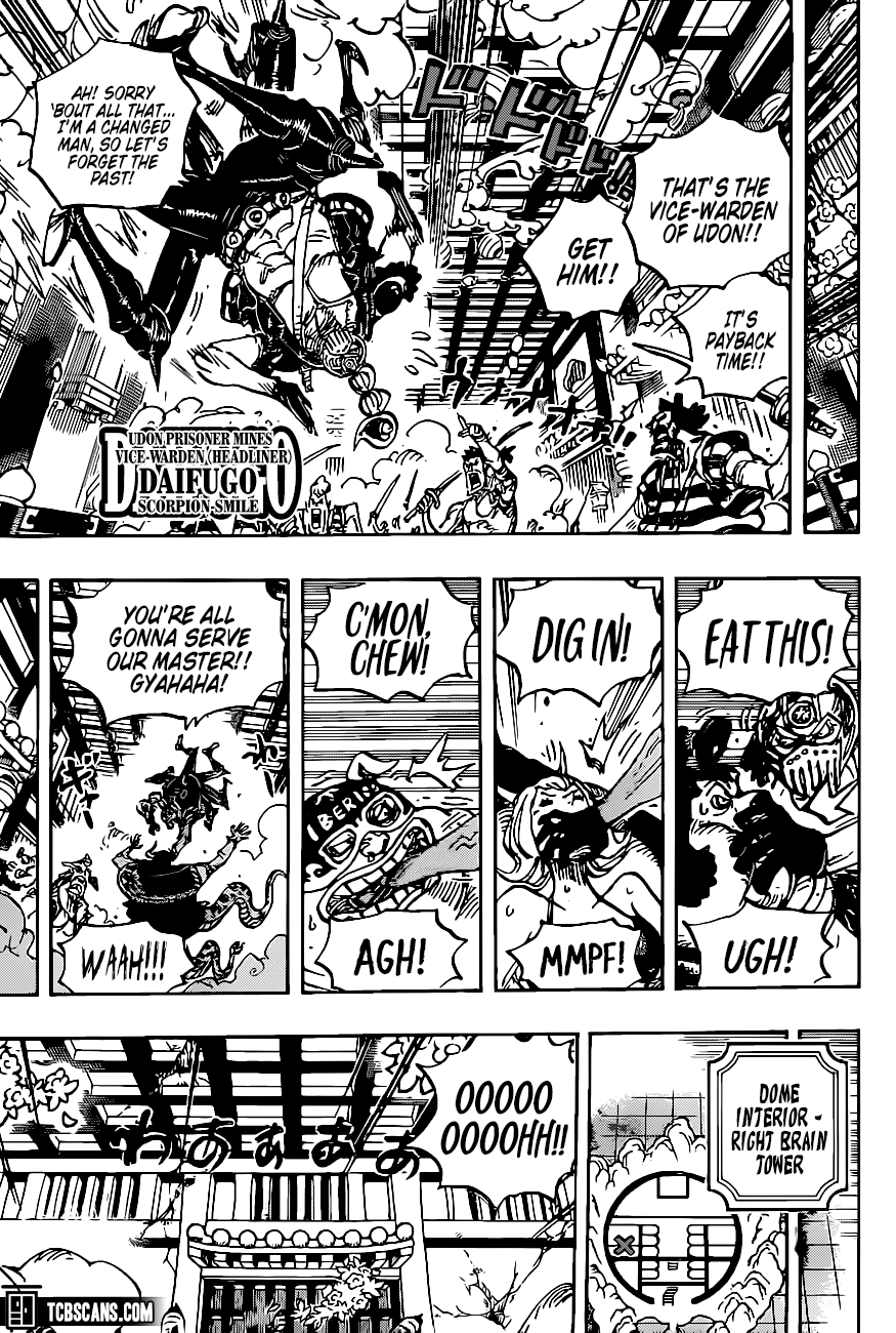 One Piece Chapter 1004 Page 6