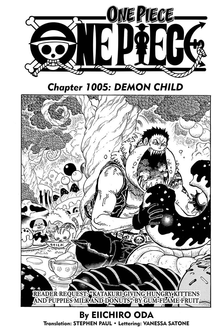 One Piece Chapter 1005 Page 1