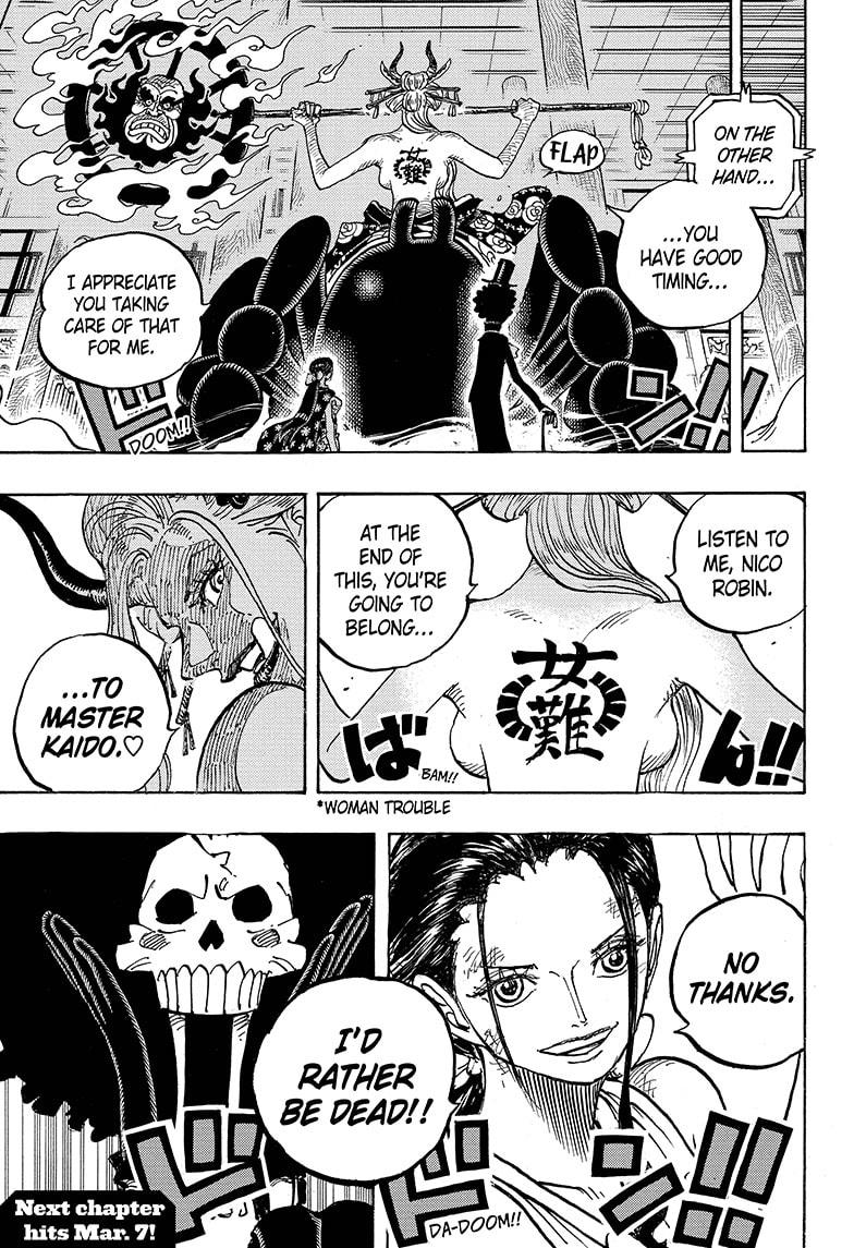 One Piece Chapter 1005 Page 16