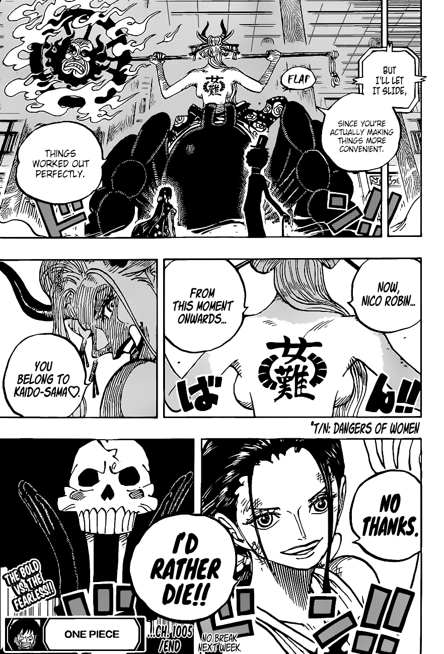 One Piece Chapter 1005 Page 17