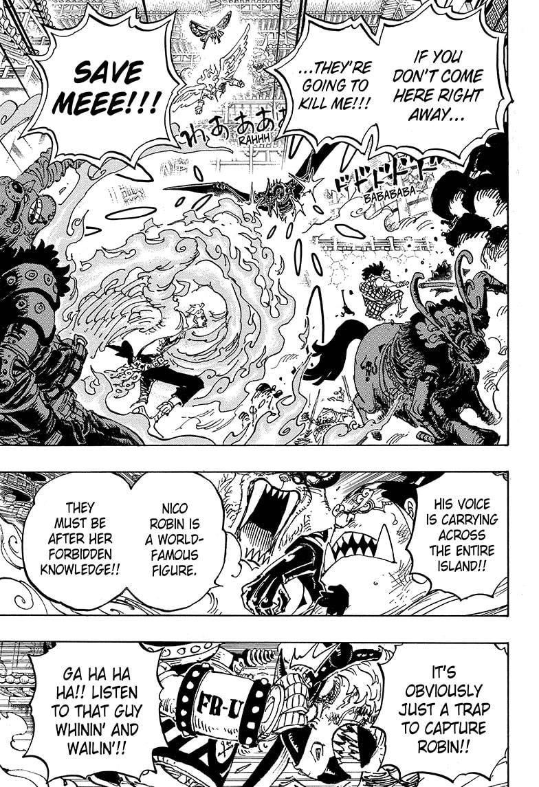 One Piece Chapter 1005 Page 7