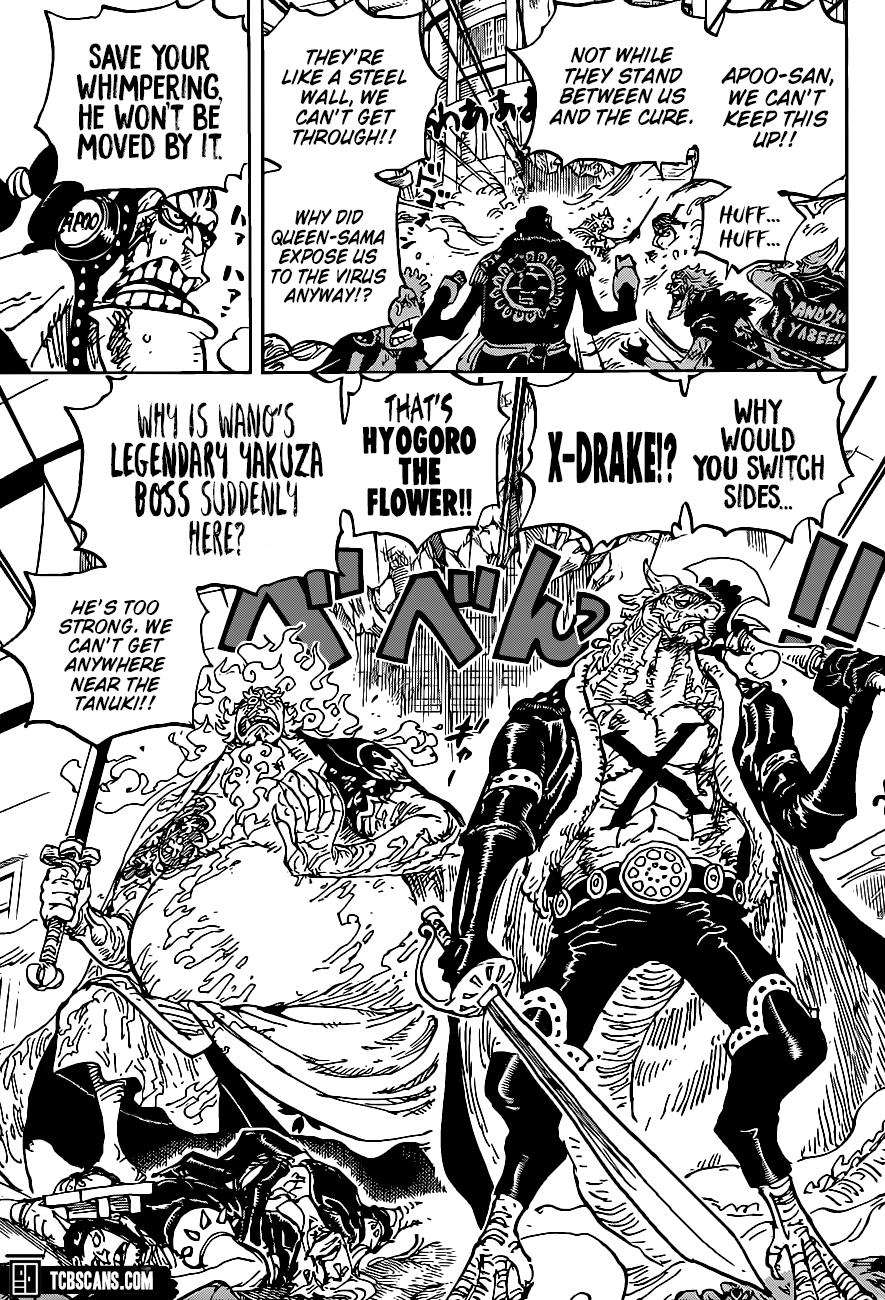 One Piece Chapter 1006 Page 10