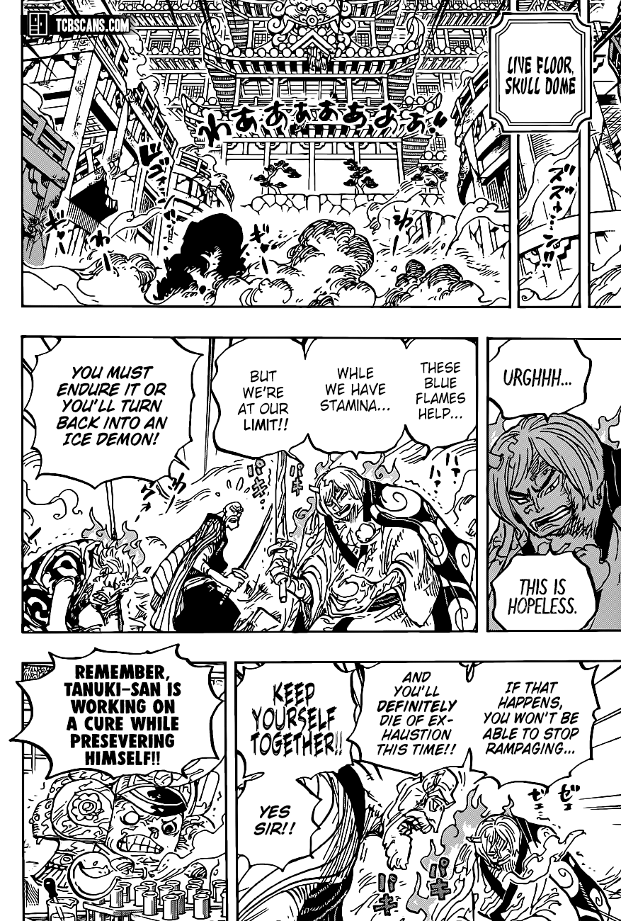 One Piece Chapter 1006 Page 9