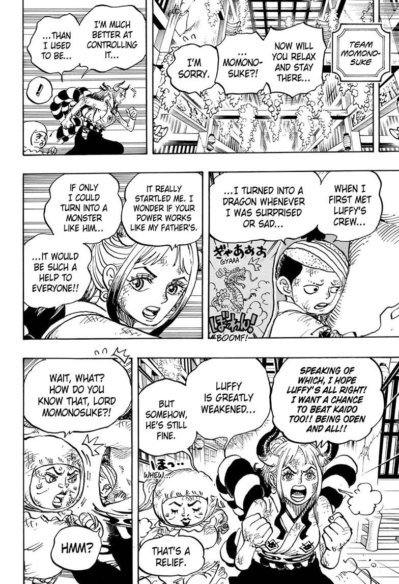 One Piece Chapter 1008 Page 14