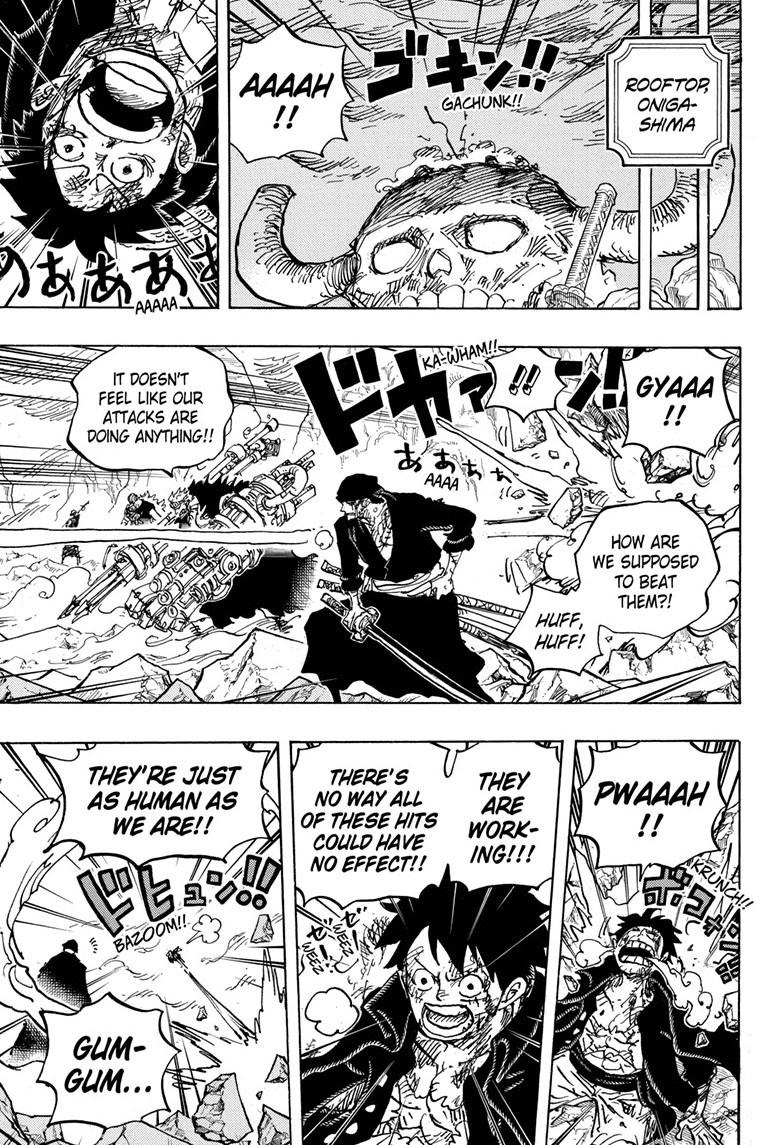 One Piece Chapter 1008 Page 15