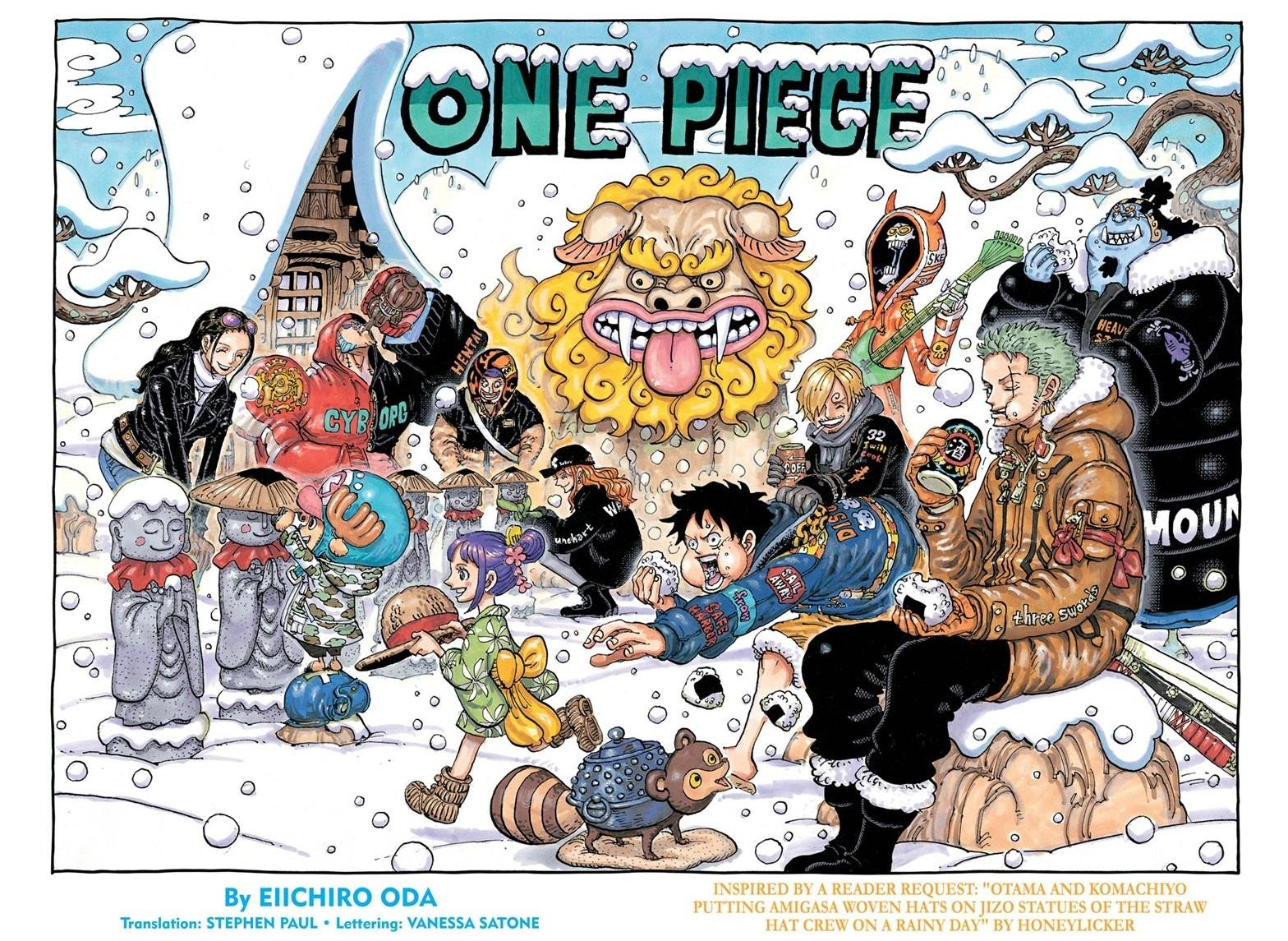 One Piece Chapter 1009 Page 1