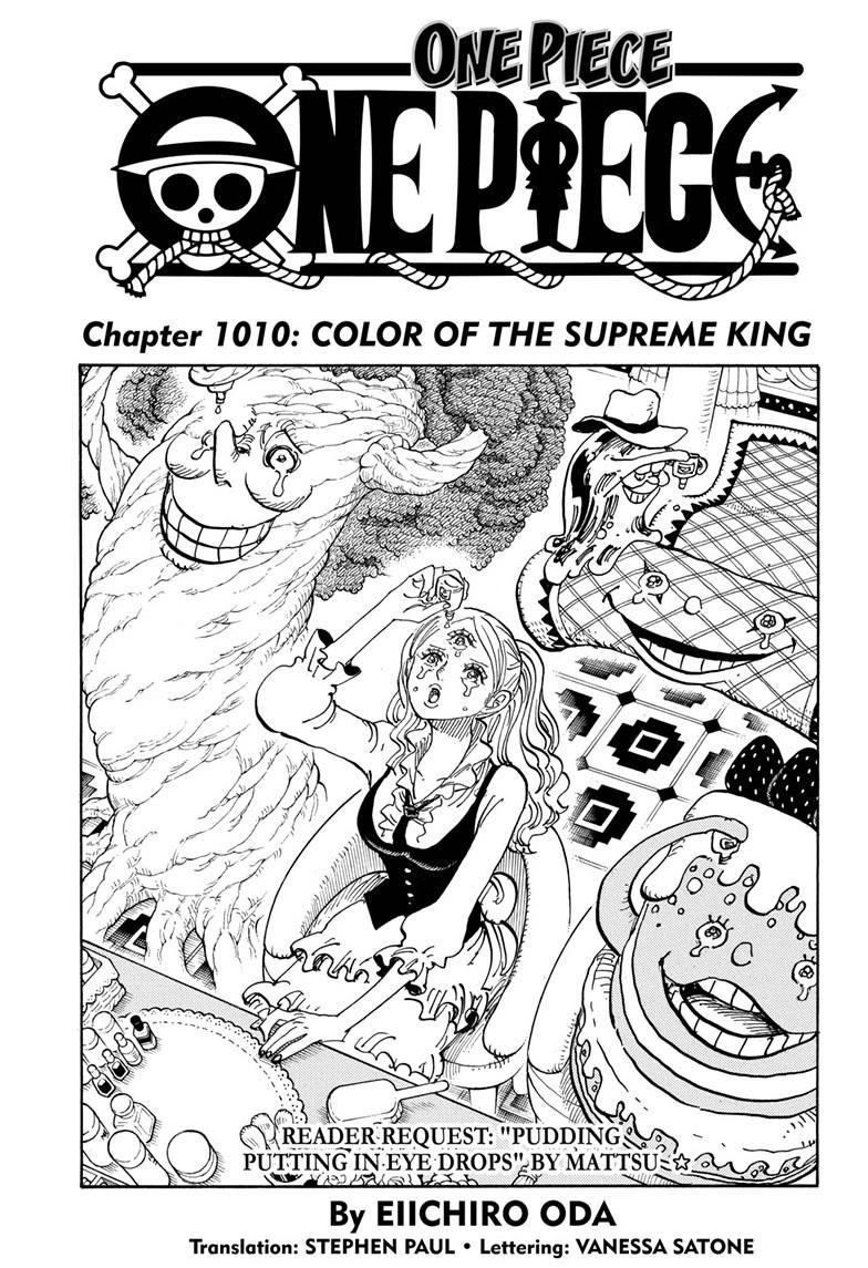 One Piece Chapter 1010 Page 1