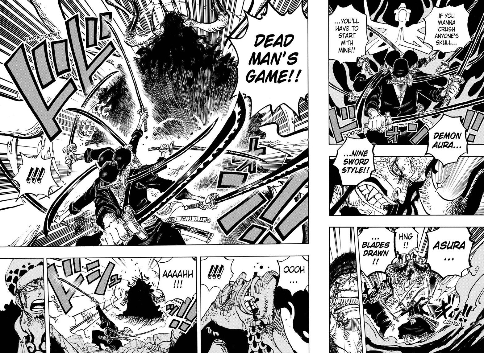 One Piece Chapter 1010 Page 8