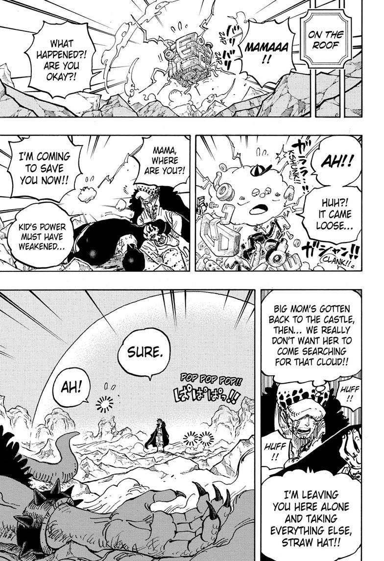 One Piece Chapter 1011 Page 4