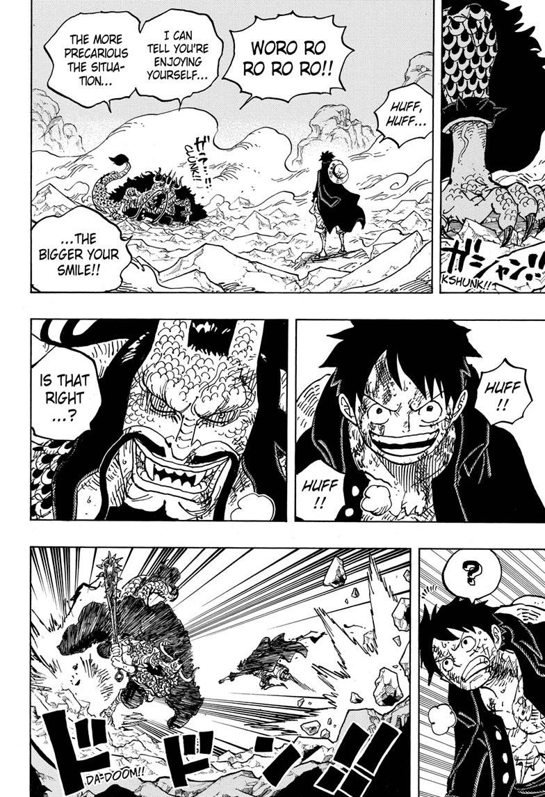 One Piece Chapter 1011 Page 5