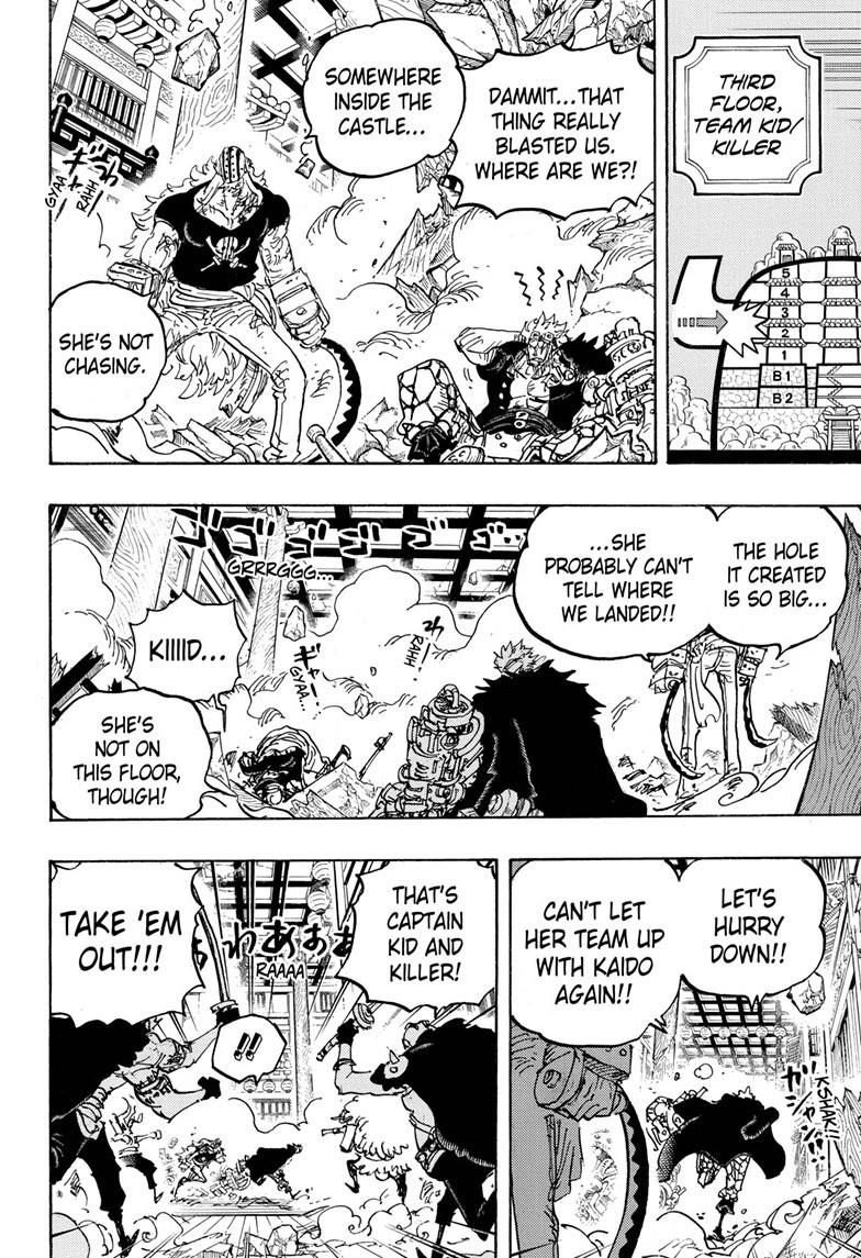 One Piece Chapter 1011 Page 7