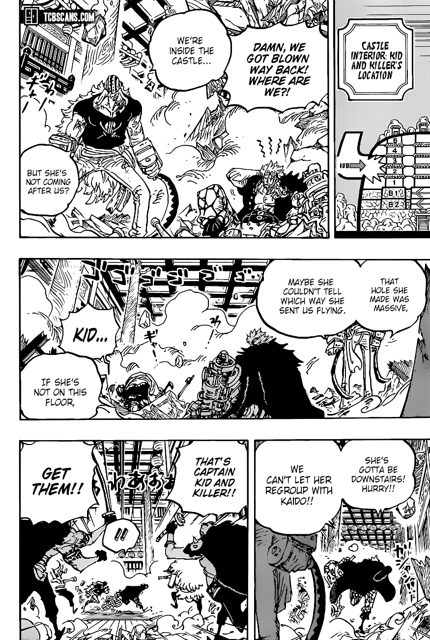 One Piece Chapter 1011 Page 9