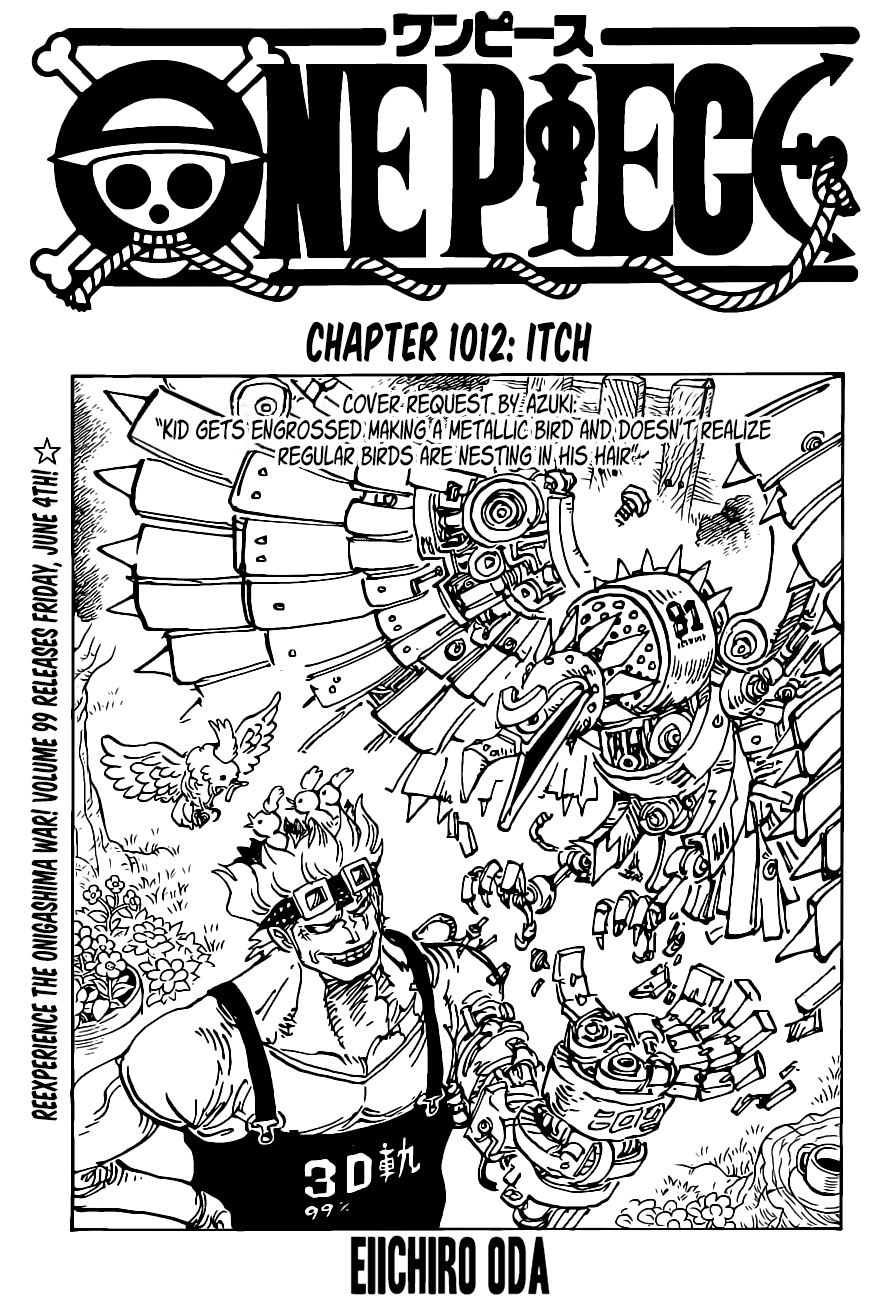 One Piece Chapter 1012 Page 1