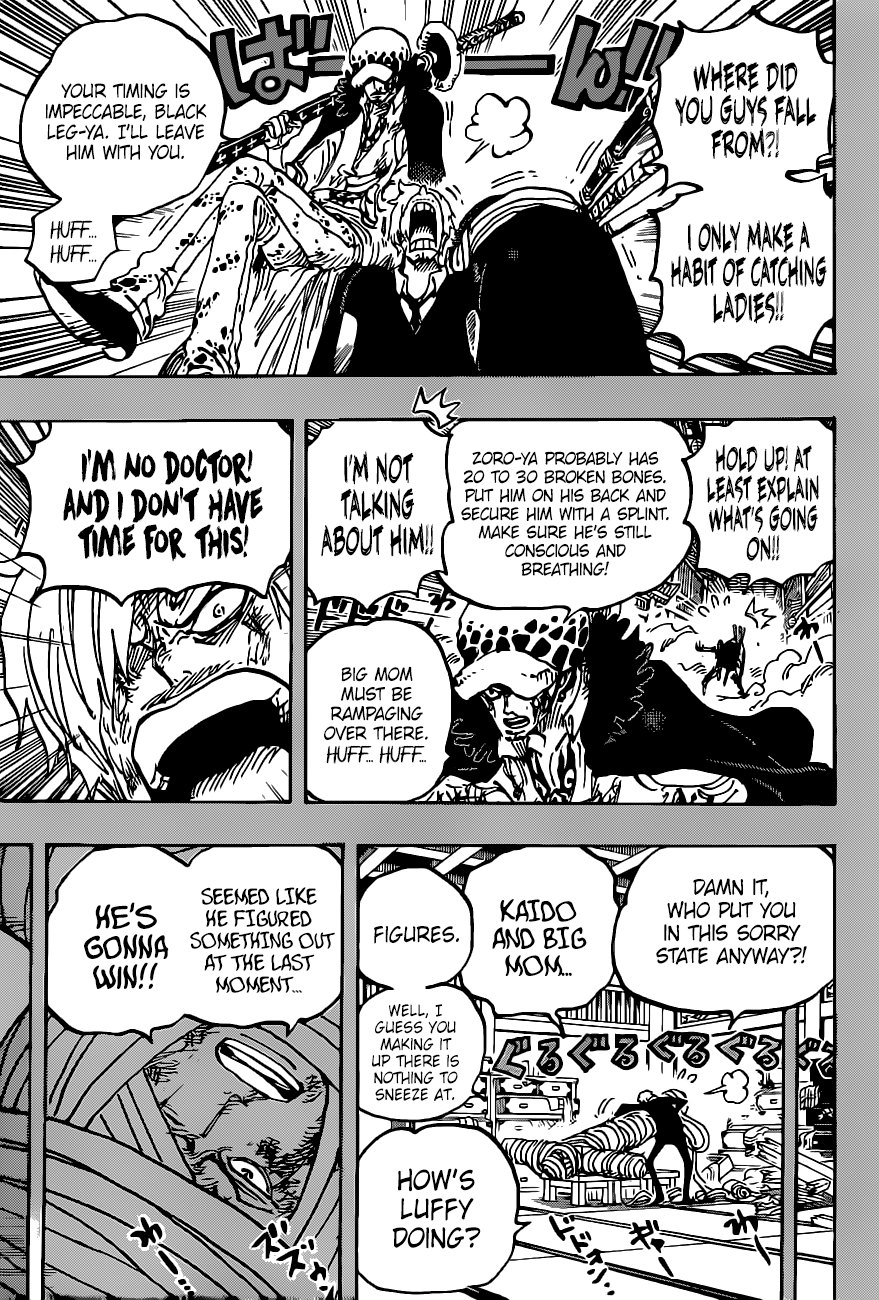 One Piece Chapter 1012 Page 10