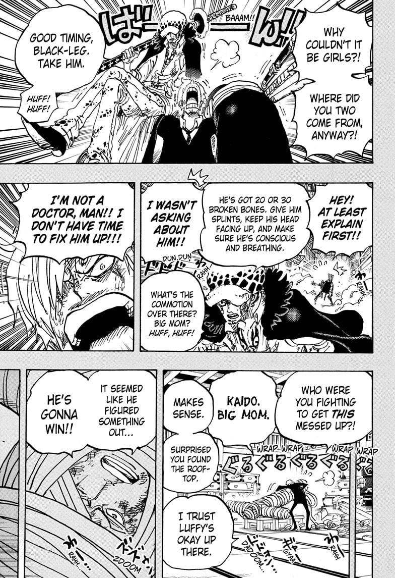 One Piece Chapter 1012 Page 9