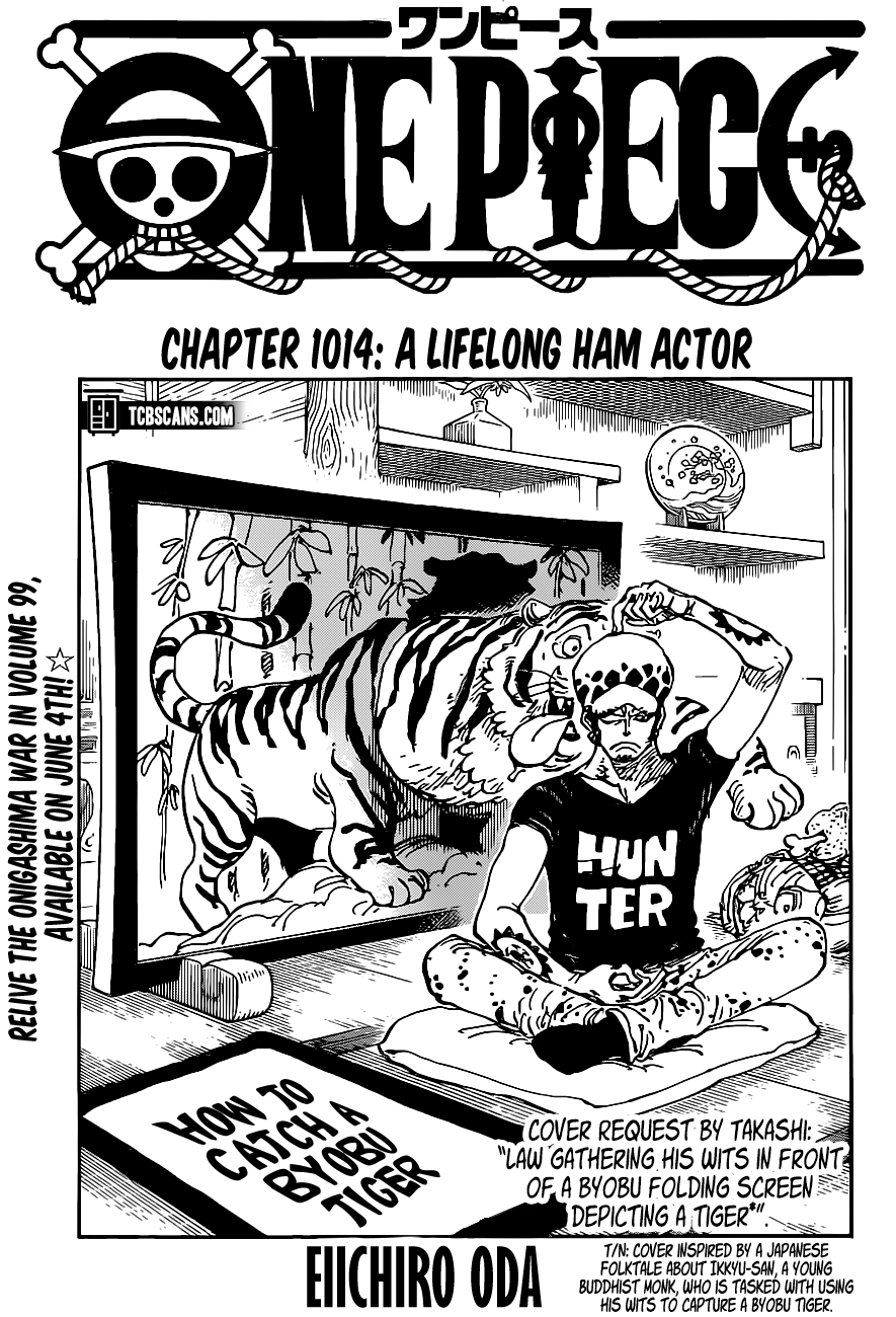 One Piece Chapter 1014 Page 1