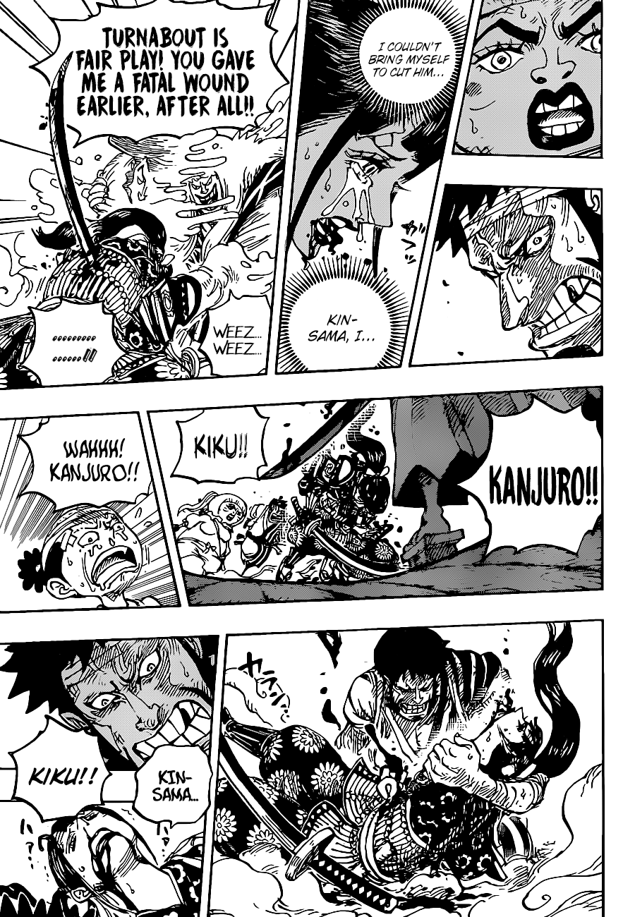 One Piece Chapter 1014 Page 12