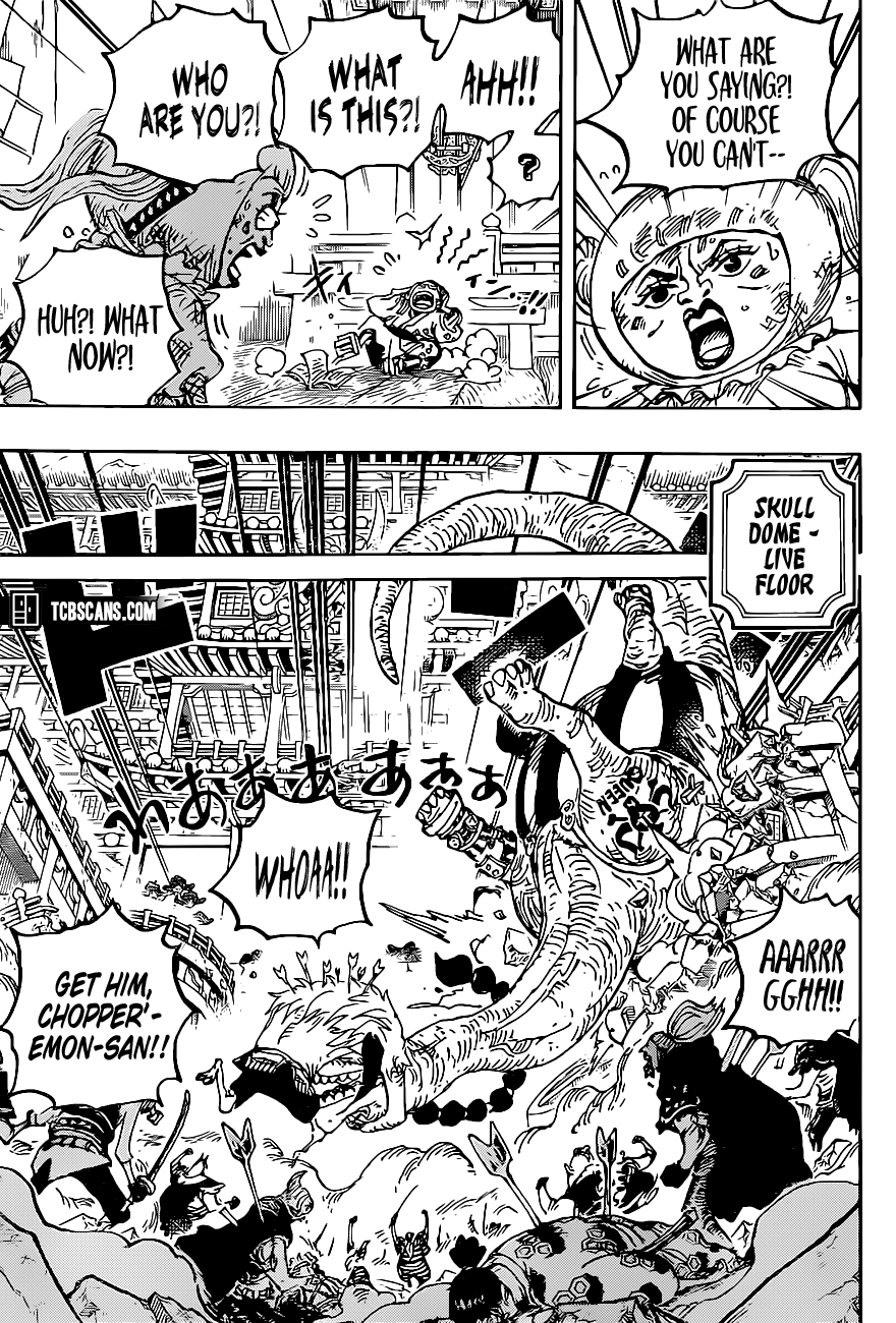 One Piece Chapter 1014 Page 5