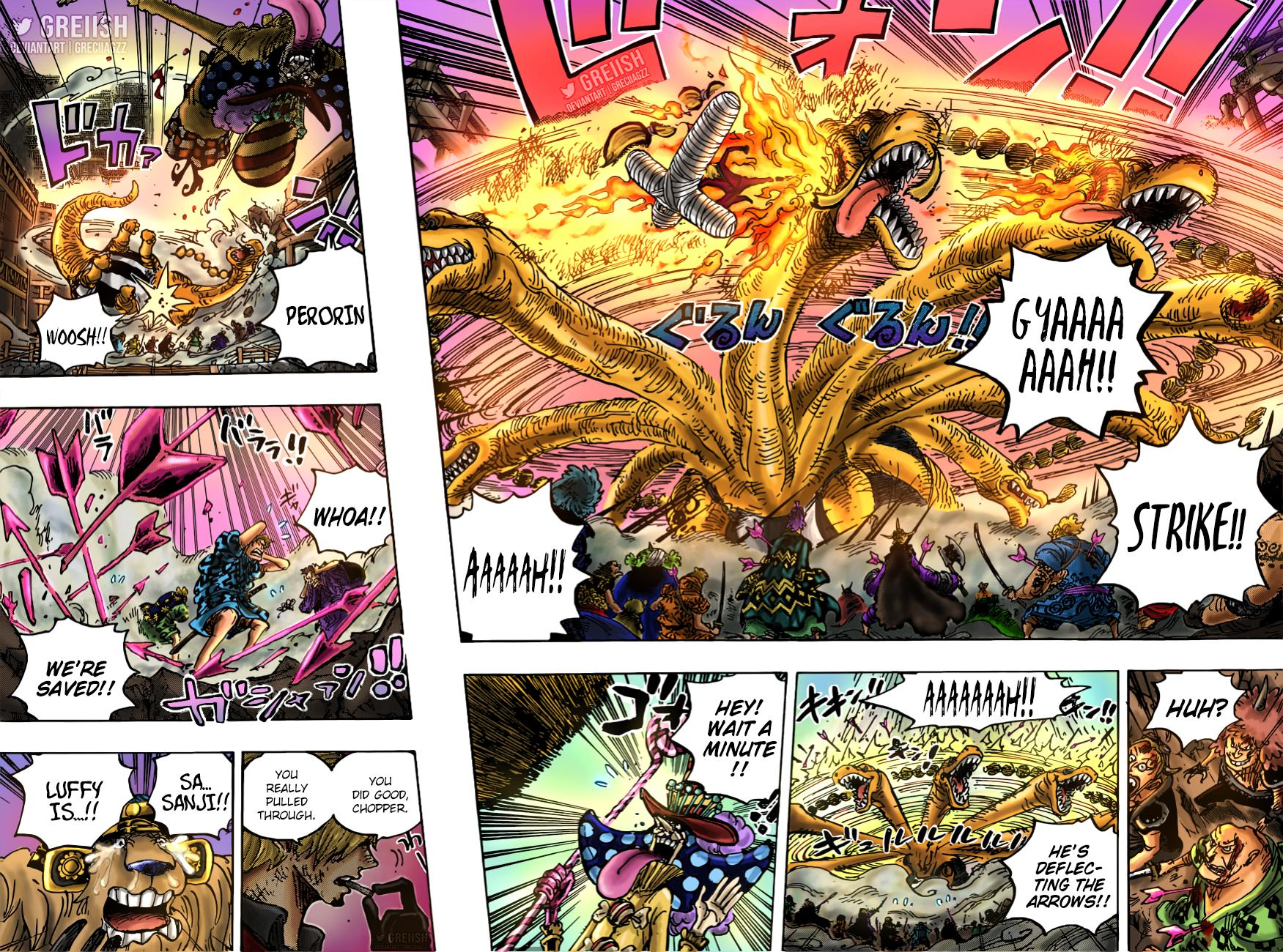 One Piece Chapter 1015 Page 16