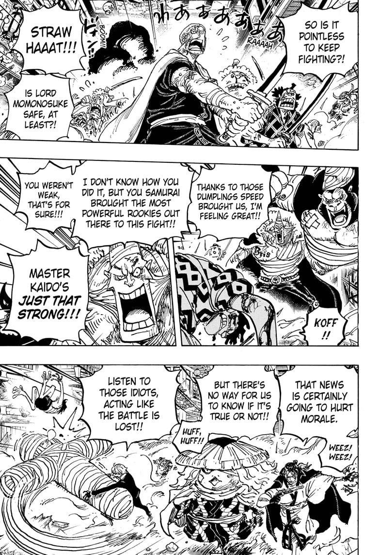 One Piece Chapter 1015 Page 3