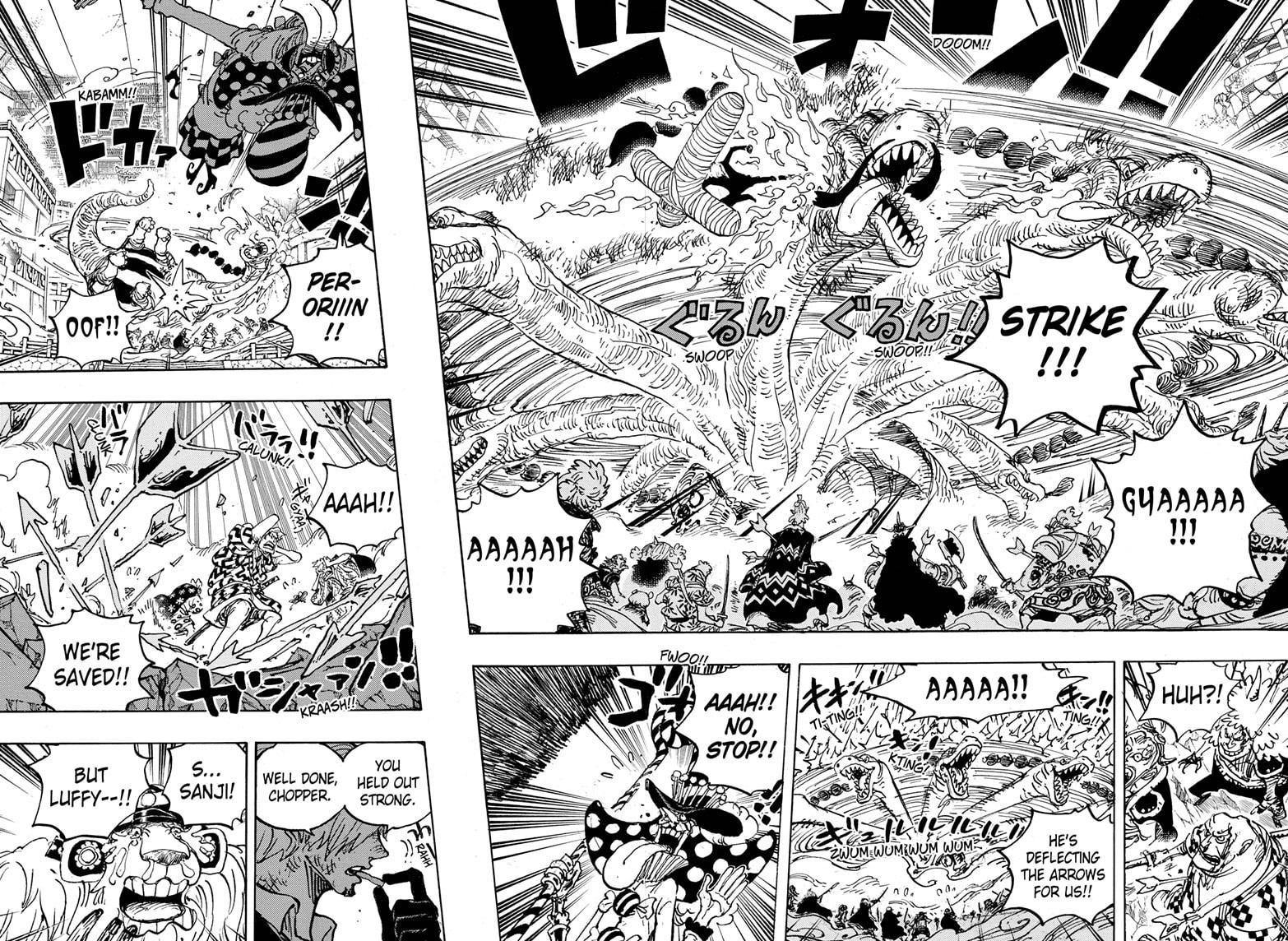 One Piece Chapter 1015 Page 6
