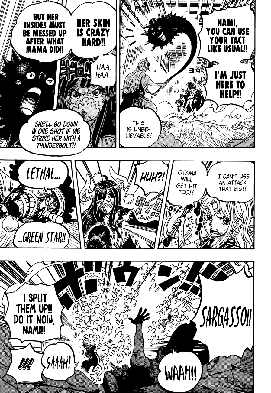 One Piece Chapter 1016 Page 9