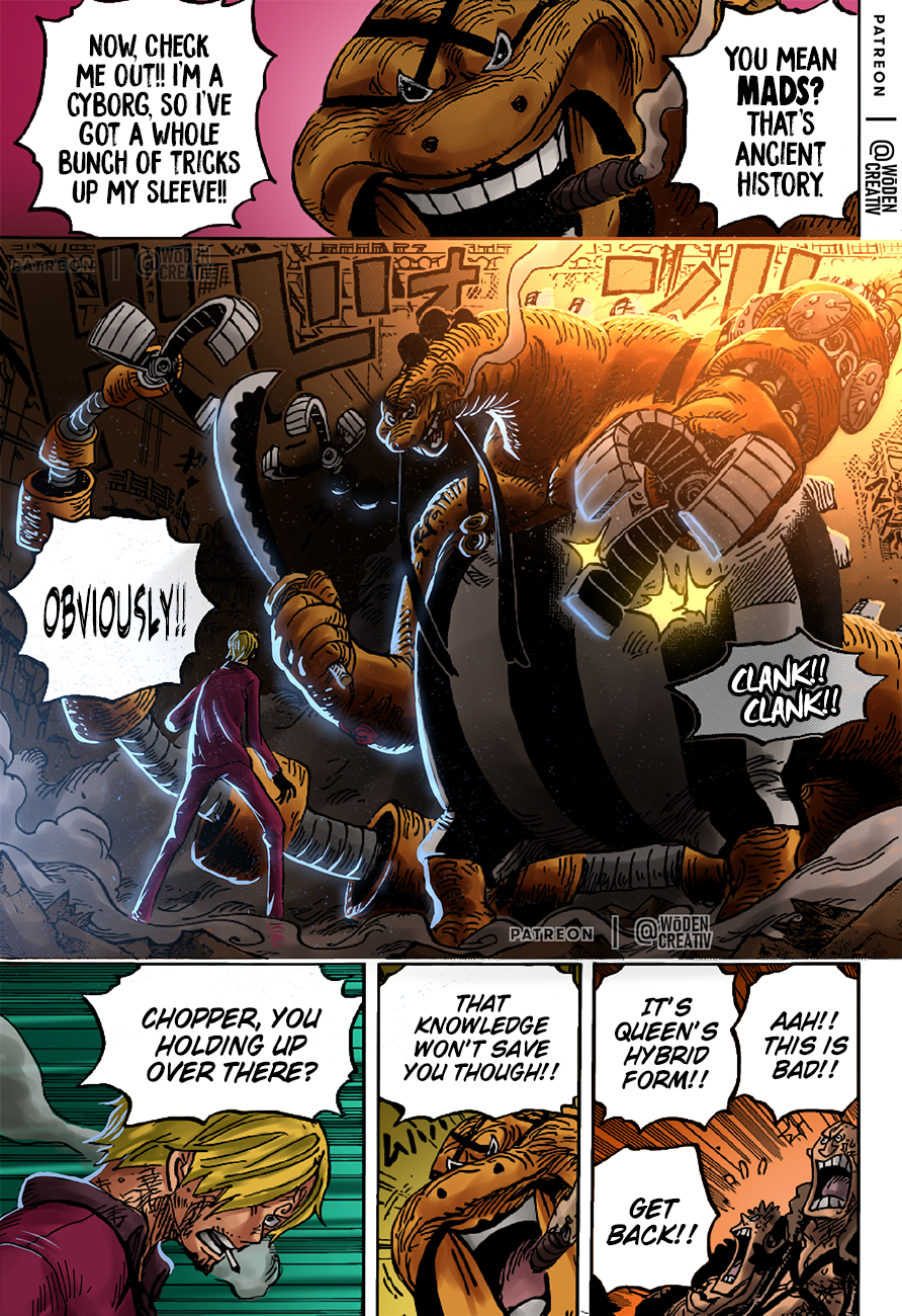 One Piece Chapter 1017 Page 19