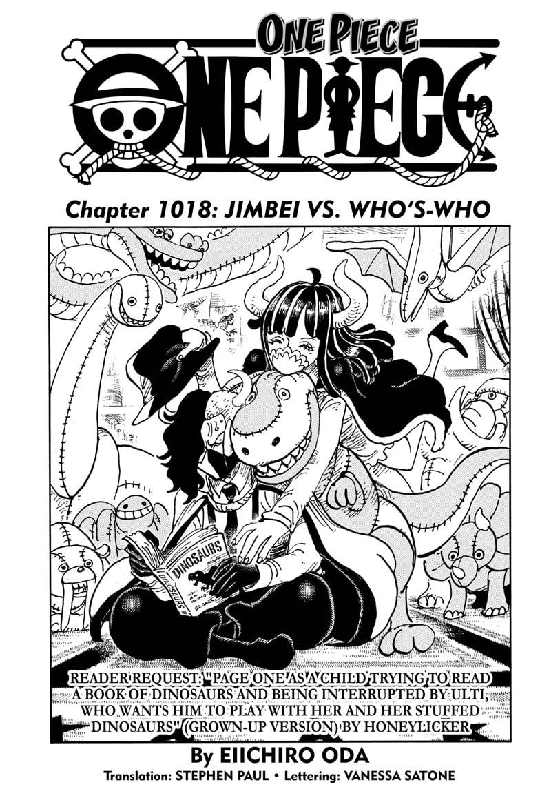 One Piece Chapter 1018 Page 1