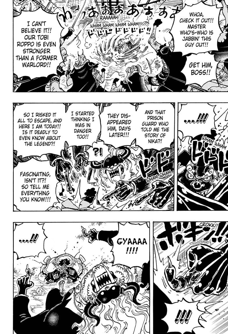 One Piece Chapter 1018 Page 14
