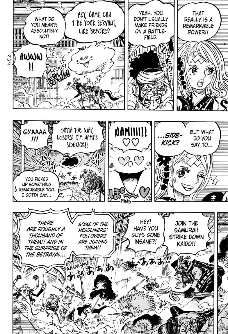 One Piece Chapter 1018 Page 4