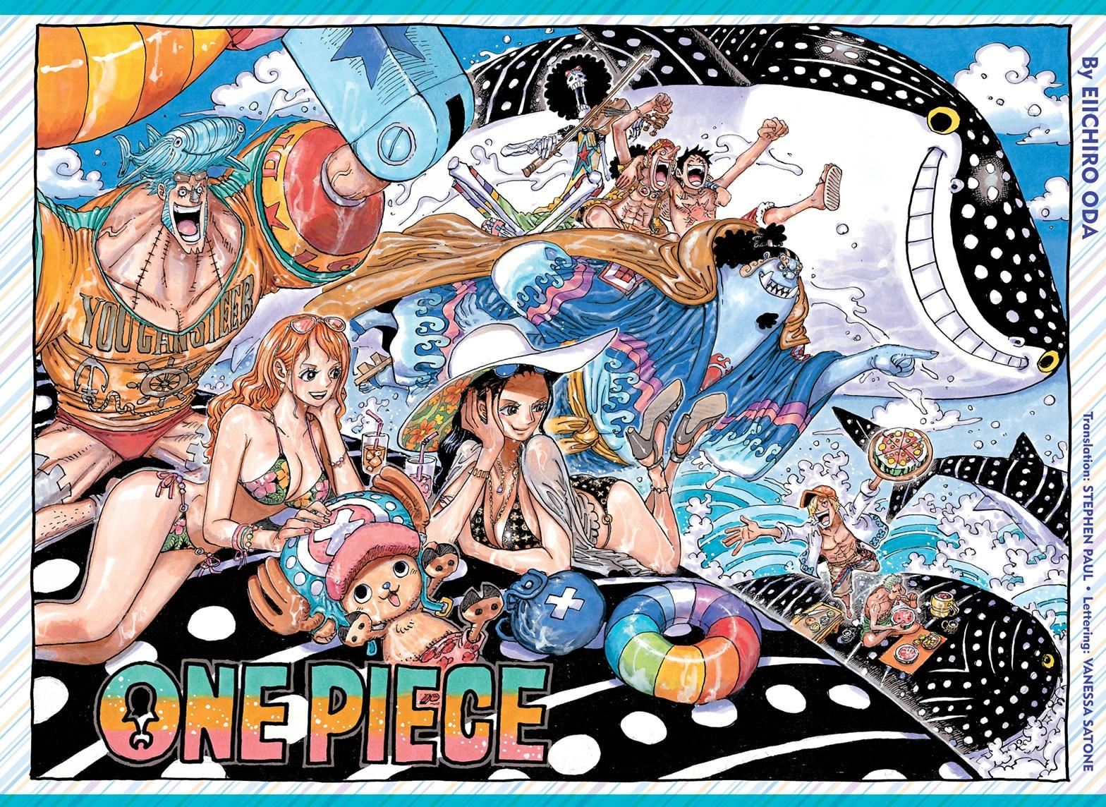 One Piece Chapter 1019 Page 1
