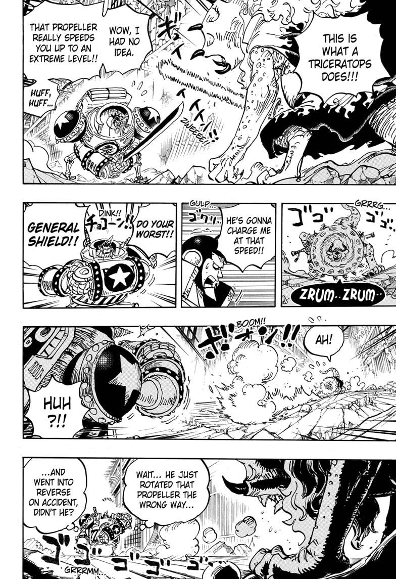 One Piece Chapter 1019 Page 10