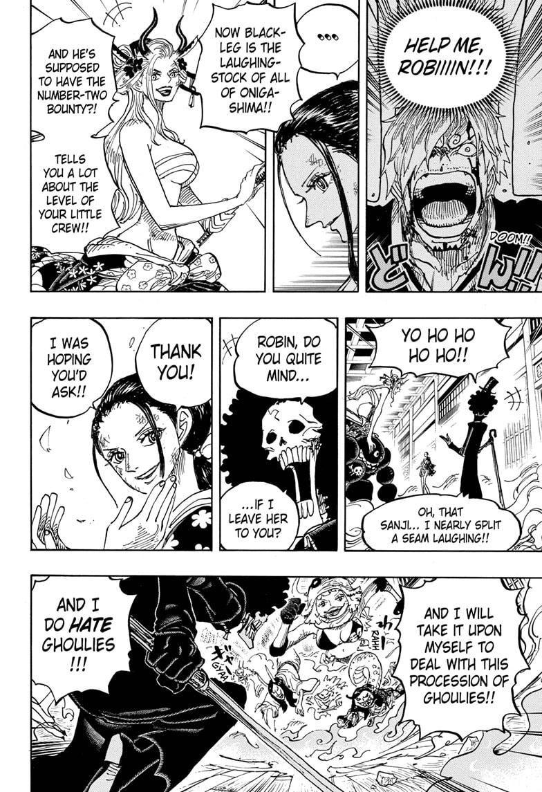 One Piece Chapter 1020 Page 14