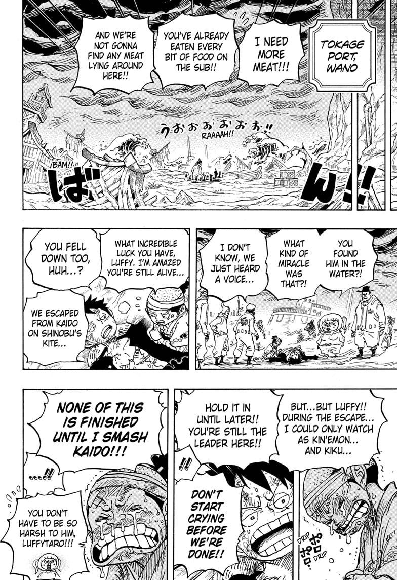 One Piece Chapter 1020 Page 16
