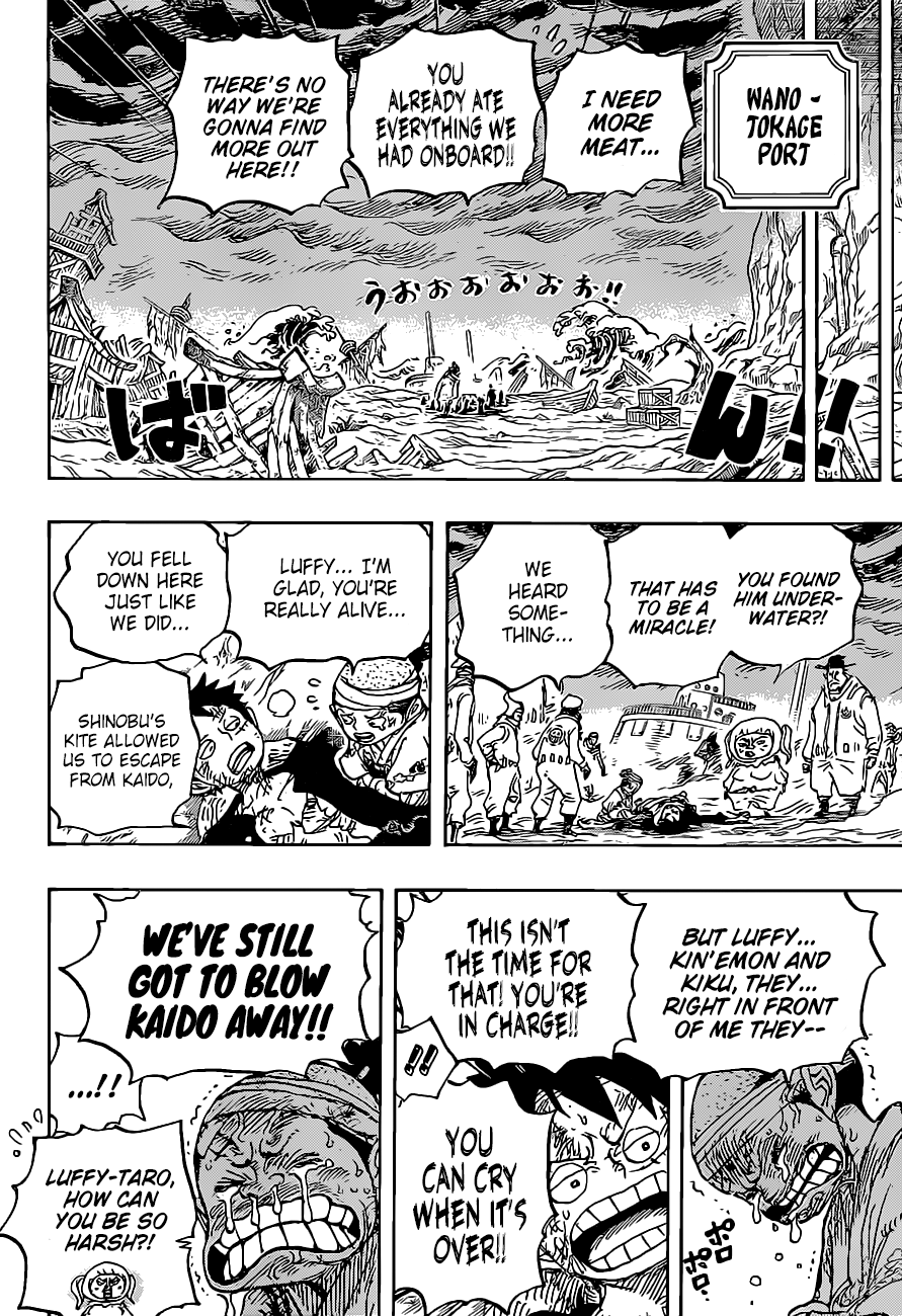 One Piece Chapter 1020 Page 17