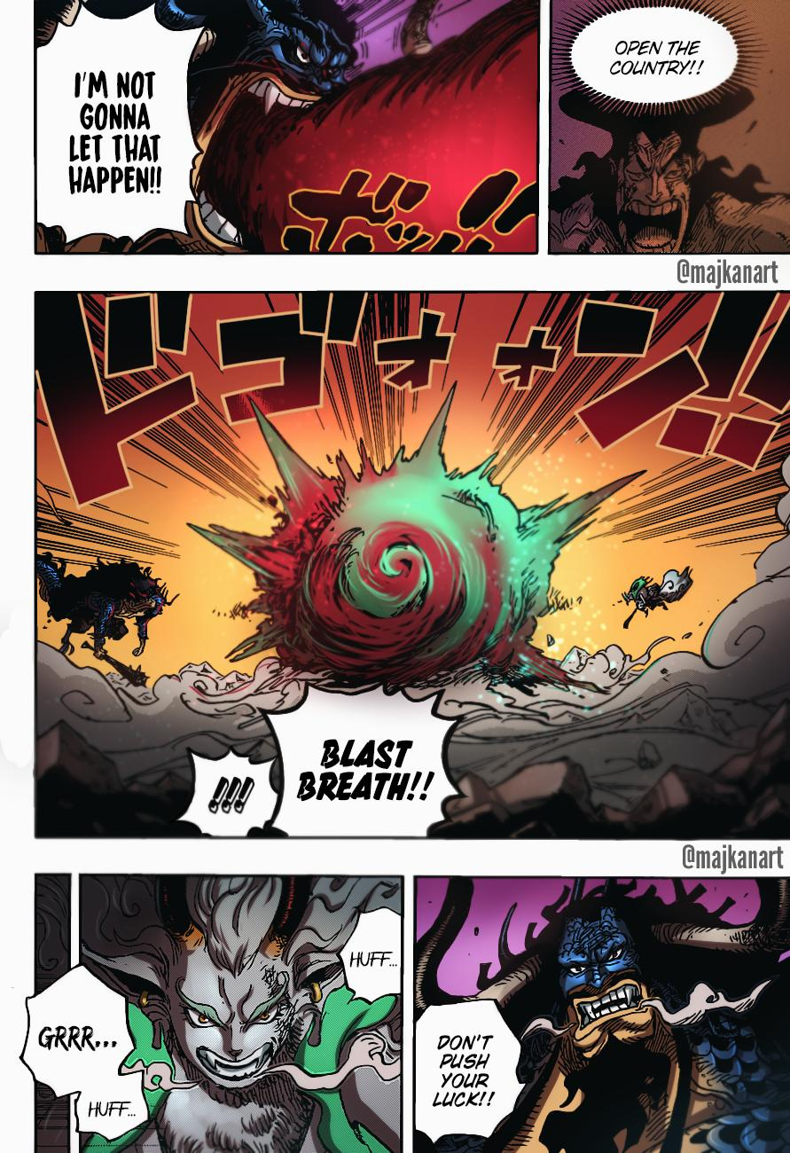 One Piece Chapter 1020 Page 22