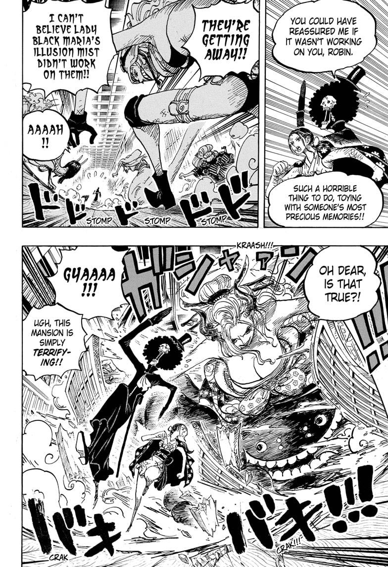 One Piece Chapter 1020 Page 8