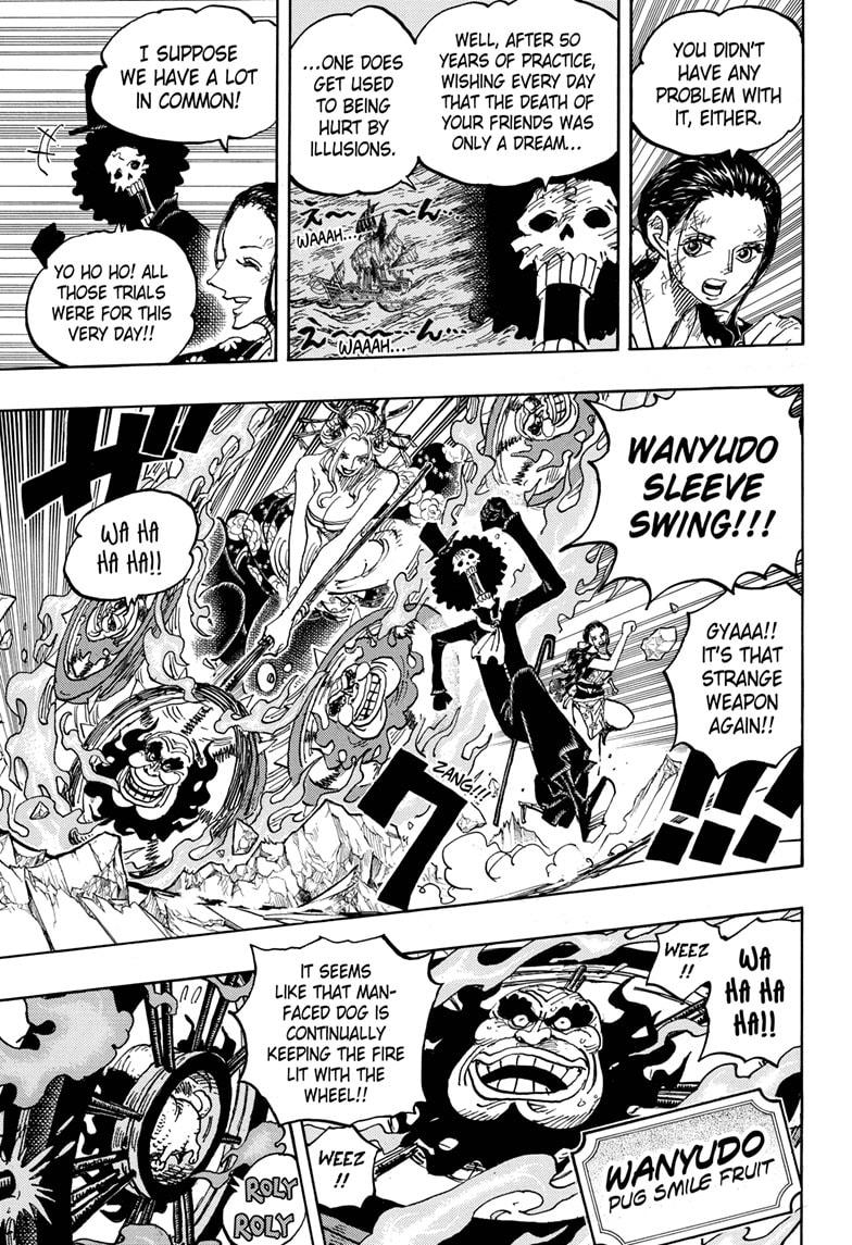 One Piece Chapter 1020 Page 9