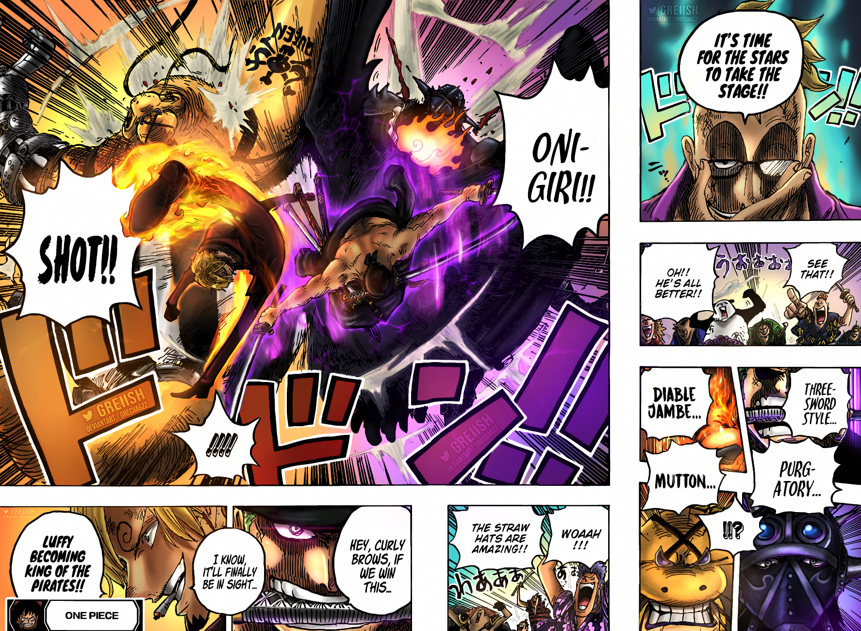 One Piece Chapter 1022 Page 17