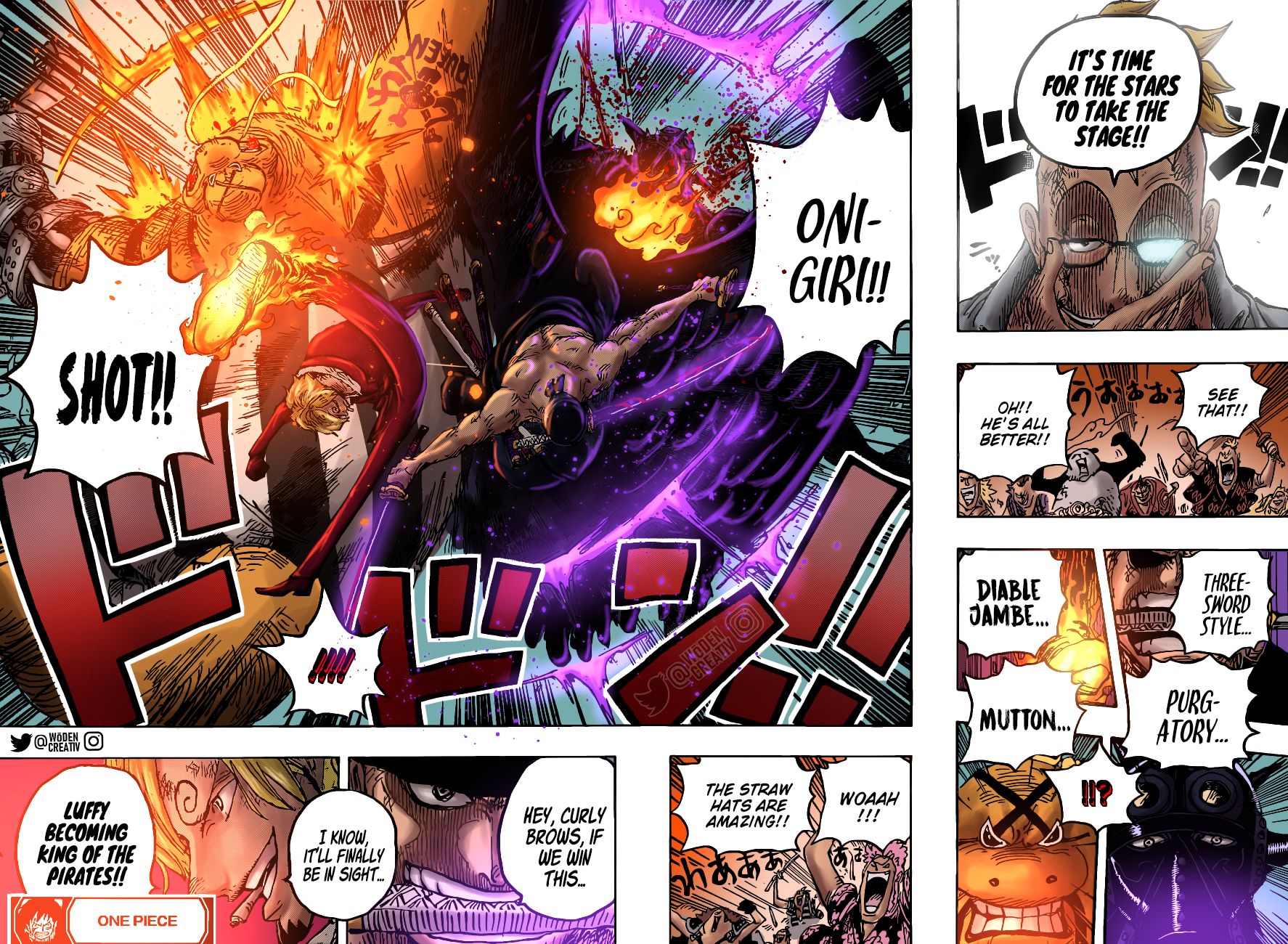 One Piece Chapter 1022 Page 18